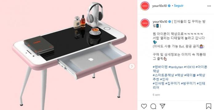Hombre compra iPhone por Internet; recibe un escritorio