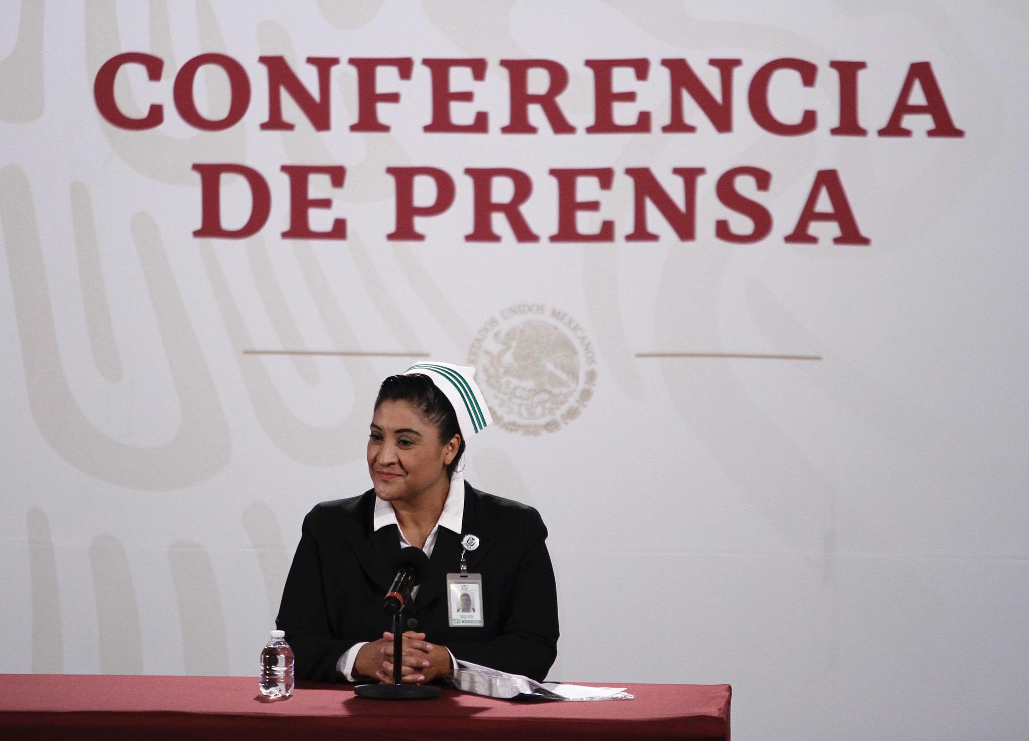 'Jefa Fabiana', líder de enfermeras del IMSS, se recupera de coronavirus