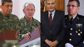 Secretarios de Gobernación, Defensa y Marina estarán en el Senado por primera vez