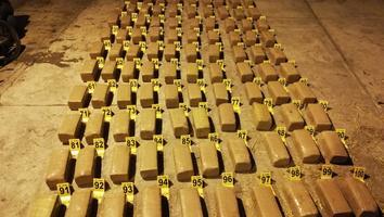 Decomisan ministeriales 330 paquetes de mariguana en Apodaca