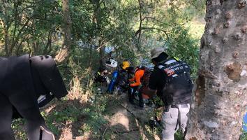 Localizan cuerpo de hombre que cayó al río en Vallecillo