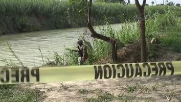 Migración envía hoy a El Salvador cuerpos de padre e hija ahogados en Río Bravo