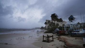 De esta forma se vivió la llegada del huracán 'Grace' a México