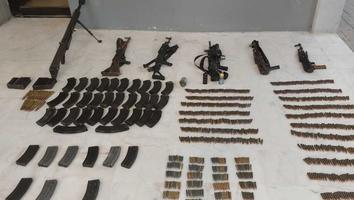 Decomisan armamento tras enfrentamientos en Tamaulipas