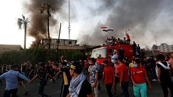 Atacan con misiles aeropuerto en Irak