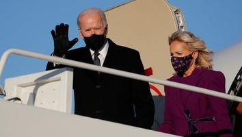 Joe Biden ya está en Washington para su investidura presidencial
