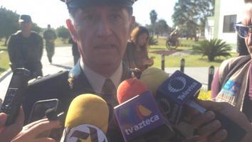Reconoce nuevo comandante de la Séptima Zona problemas de inseguridad en el Estado