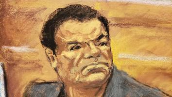 Así reaccionó 'El Chapo' al ser declarado culpabe en NY