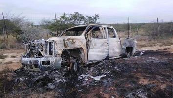 Suman 21 cuerpos los localizados en un rancho de Miguel Alemán