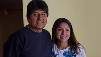 Hijos de Evo Morales dejan Bolivia; van a Argentina
