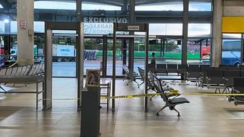 Hombre lesionado provoca movilización en la Central de Autobuses