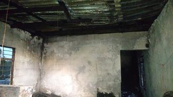 Familia pide ayuda tras perder a un familiar y sus pertenencias en un incendio