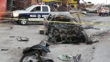 Mueren dos hombres y uno resulta herido tras fuerte choque en la Carretera a Monclova