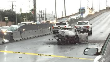 Mueren tres personas calcinadas a bordo de su auto en San Pedro
