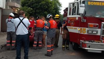 Niño provoca incendio dentro de su casa en la colonia Nuevo Repueblo