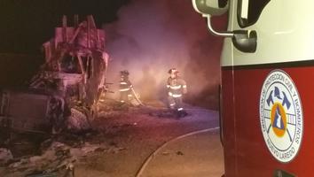 Muere trailero tras choque múltiple en la Carretera a Laredo