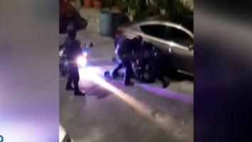 Captan persecución que dejó dos detenidos en San Pedro 400