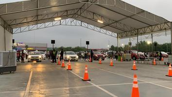 Drive thru de Arena Monterrey
