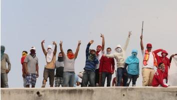 Protestan reos en el Penal del Topo Chico