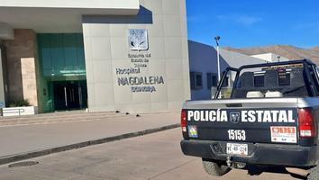 Roban tanques de oxígeno y equipo médico de hospital en Sonora