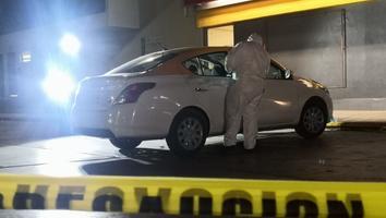 Asesinan a un hombre a balazos en una gasolinera en Apodaca