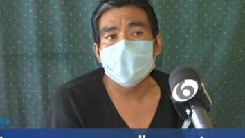 Hombre pide ayuda tras perder la visión en uno de sus ojos y tres dedos de su pie izquierdo