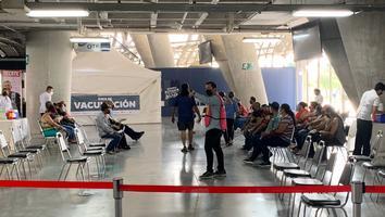 Inicia aplicación de segunda dosis de vacunaCovida personas de 50 años en Guadalupe