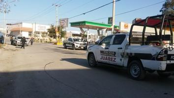 Policía baleado tras enfrentamiento en Juárez es reportado como grave