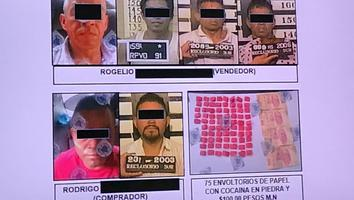 Capturan a dos bandas de narcomenudistas en CdMx