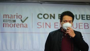 Mario Delgado da positivo a coronavirus
