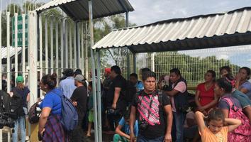 México reabrirá su frontera a la caravana migrante