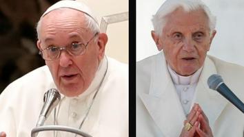 Papa Francisco y Benedicto XVI se vacunan contra el covid-19