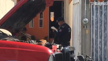 Explosión de tanque de gas deja lesionada y un perro muerto en Puebla
