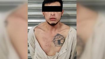 Detienen a un hombre en Santa Catarina por dañar casa y portar droga