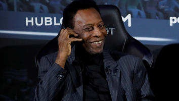 Pelé, exfutbolista brasileño