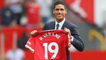 Rafael Varane, jugador del Manchester United