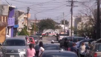 Asesinan a balazos a ciclista en calles de la colonia Hacienda del Topo Chico