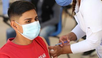 Anuncian jornada de vacunación anticovid en 7 municipios de NL contra Covid-19