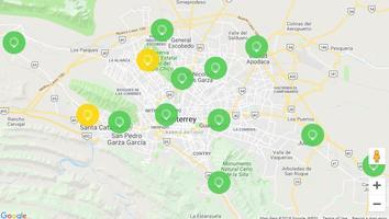 AL MOMENTO: Santa Catarina y San Bernabé presentan condiciones regular en la calidad del aire