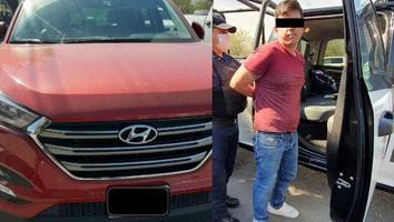 Sorprenden a hombre al circular en una camioneta con reporte de robo en la colonia Industrial