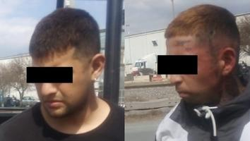 Detienen a dos por posesión de droga en Apodaca