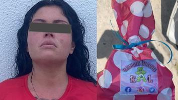Mujer es detenida por presuntamente ofrecer galletas y brownies de mariguana en Monterrey
