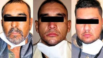Capturan a tres por portar arma de fuego y droga, en la Colonia Hacienda Santa Rosa