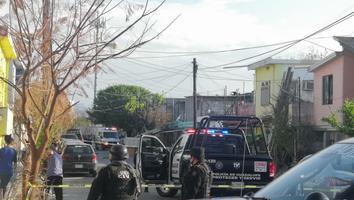 Ataque a balazos en la colonia Valle Soleado deja un muerto y un herido