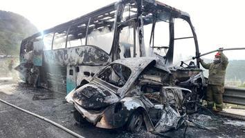 Se tendrá hoy peritaje del autobús con normalistas de Ayotzinapa