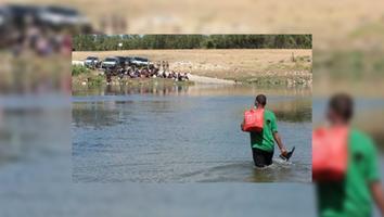 EU impide el paso en Texas y salen más de 200 migrantes haitianos