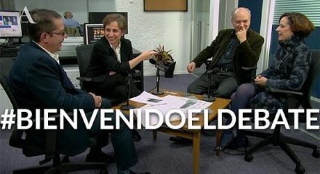 #BienvenidoElDebate: Meyer, Dresser y Villamil en Aristegui Noticias