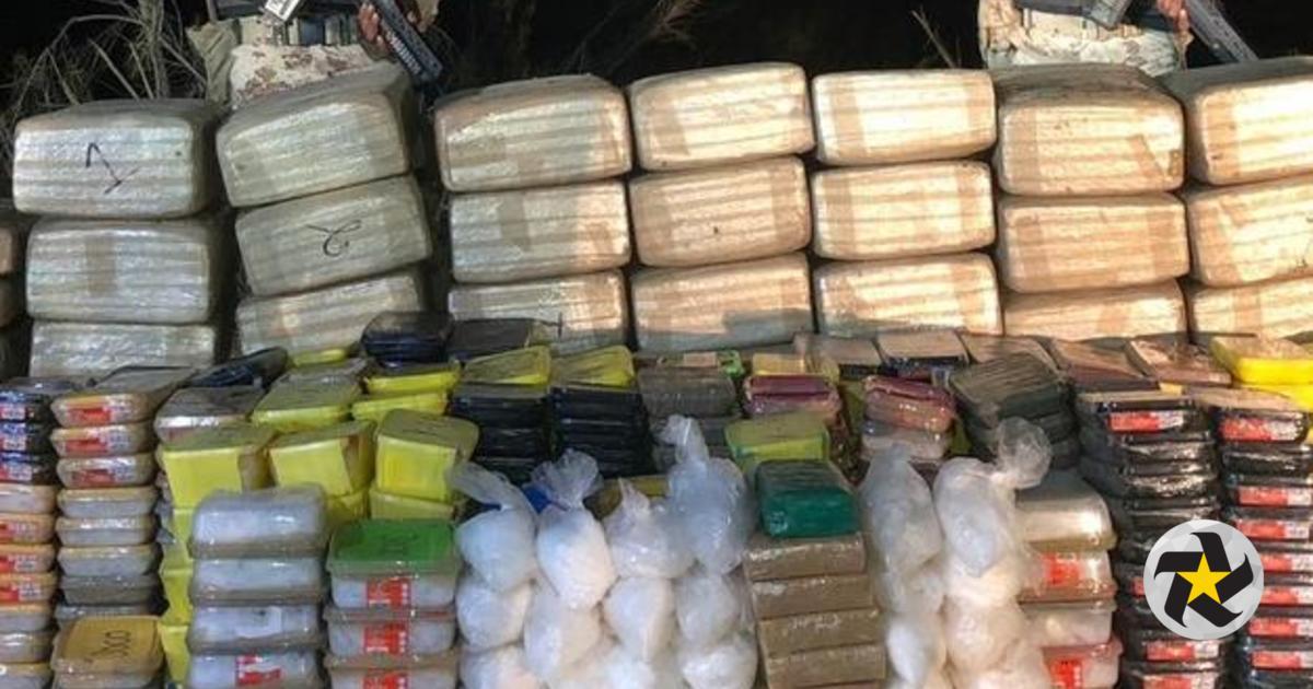 Militares decomisan 750 kilos de droga oculta entre la maleza ... f7ef64a18f68