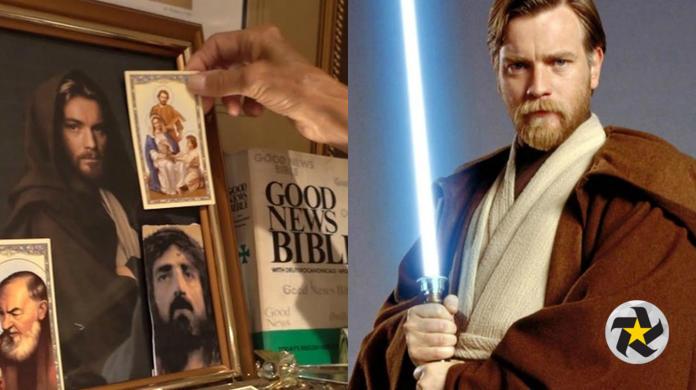 Mujer le rezaba a Obi-Wan Kenobi de Star Wars; pensó que era un santo