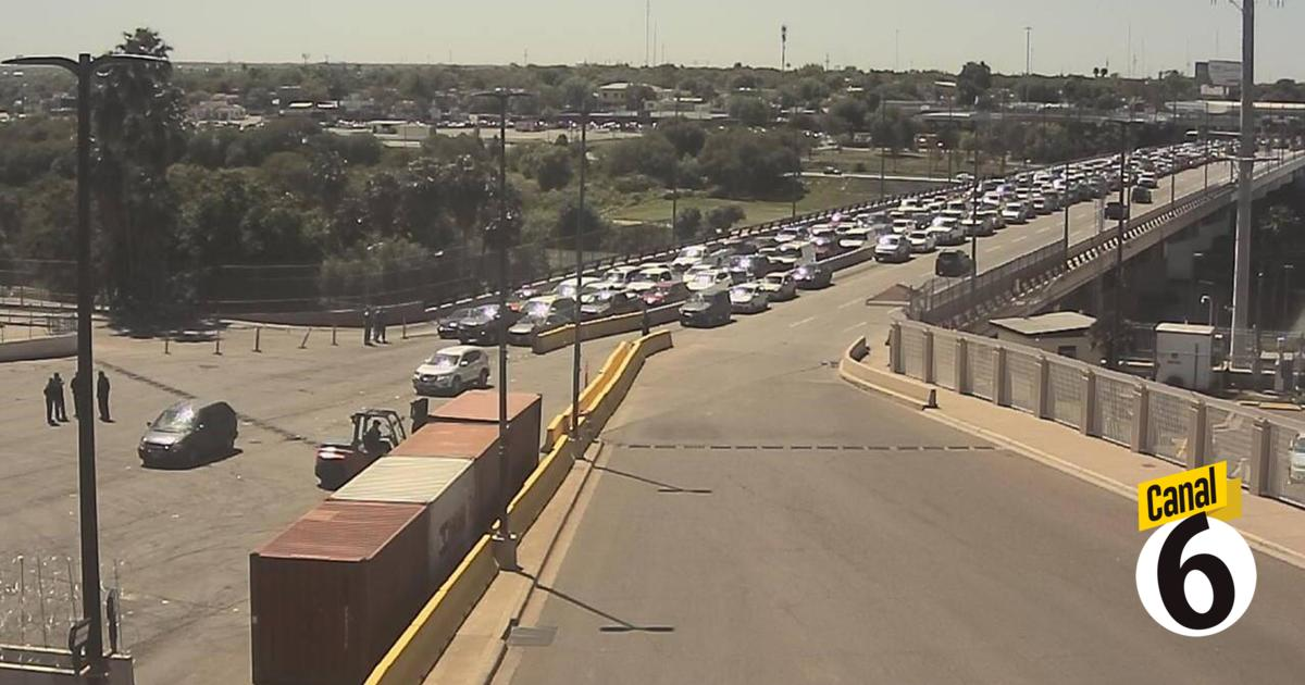 Cierran carriles de puente internacional Juárez-Lincoln